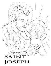 Catholic Saints Coloring Pages Coloring Saints Coloring Pages All