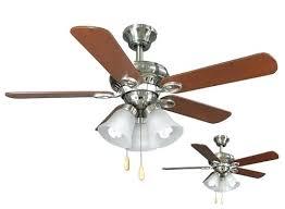 nickel ceiling fans in led indoor brushed nickel ceiling fan satin