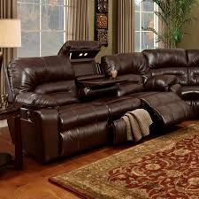 Motion Sofa with Lights & Storage Drawer 596 by Franklin