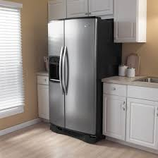 whirlpool gold side by side refrigerator. whirlpool gold gs6nvexsl - kitchen view side by refrigerator