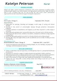 Sample Nursing Resume – Xpopblog.com