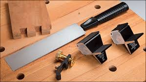 dovetail saw guide. veritas® dovetail guide and saw set