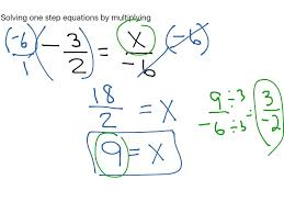 most viewed thumbnail solving one step equations by multiplying