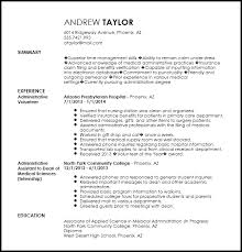 Free Entry Level Clerical Officer Resume Template