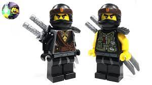 LEGO Ninjago Custom Cole Minifigure from Hunted - YouTube