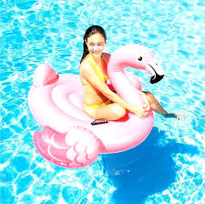 pool water with float. Baby Water Floats Clearance Pool High Quality Pink Flamingo Summer Swimming Lounge Float Inflatable . With