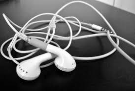 apple headphones. that apple headphones