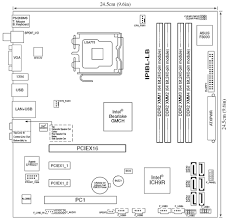 hp and compaq desktop pcs motherboard specifications ipibl lb figure layout