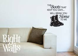 categories wall decals  on wall decal vinyl art stickers decor with safe combat boots military wall decals vinyl art stickers