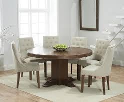 mark harris turin solid dark oak dining set 150cm round pedestal with 4 pailin