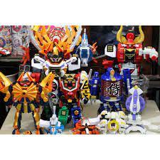 Đồ Chơi Chiến Đội Siêu Nhân Thần Kiếm Samurai Sentai Shinkenger các loại