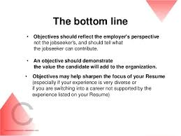 Great Resume Objective Lines Reference Voltage Great Resume