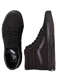 vans shoes black on black. vans shoes black on