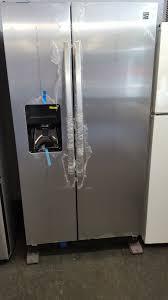 kenmore 50023. kenmore 50023 25 cu. ft. side-by-side refrigerator - stainless steel 9