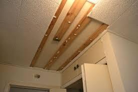polystyrene styrofoam ceiling tiles in my hallway