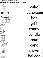 Small Picture Birthday Activities at EnchantedLearningcom