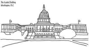 Small Picture Washington DC Capitol Building Coloring Page Coloring Book