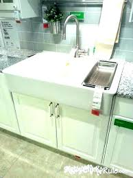 offset bowl farmhouse sink smooth a double stainless