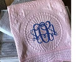 Handmade baby quilt | Etsy & Monogram Baby Quilt | Personalized Baby Quilt | Personalized Baby Blanket |  Monogram Keepsake Quilt | Adamdwight.com