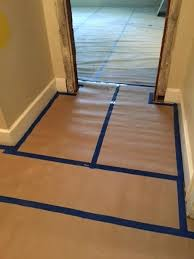 tile floor protection it is better to be proactive and protect the flooring than to risk