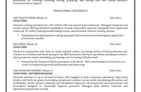 Line Cook Resumes How To Write Resume Summary Dental Assistant