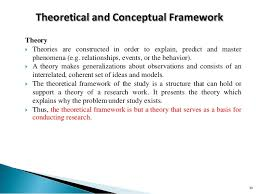Parts of a research paper educ     CHAPTER   THE PROBLEM AND ITS BACKGROUND      B  Theoretical