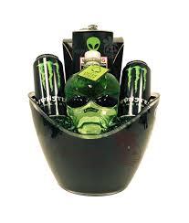 e jam vodka gift basket alien head gift basket e monster drink alien