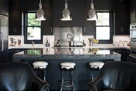 modern black kitchens. Unique Modern Black With Dark Blue Color Combination For Kitchen In Modern Kitchens