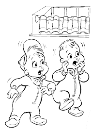 Small Picture Kids n funcom 26 coloring pages of Alvin and the Chipmunks