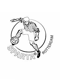 Kleurplaat Logo Voetbal Vitesse Kleurplaten Emblemen Van De