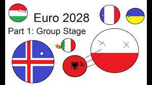 EURO 2028 not real Part 1-Group Stage - YouTube