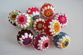Crochet Christmas Ornaments Patterns Inspiration Crocheted Christmas Ball Ornaments Free Pattern Sparkles Of Sunshine