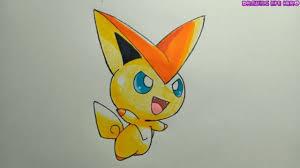Cách vẽ pokemon huyền thoại Victini siêu cute và dễ thương   Pokemon, Dễ  thương, Đang yêu