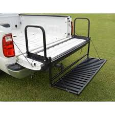 Truck Bed Steps and Hitch Steps | Leonard Truck Accessories Products