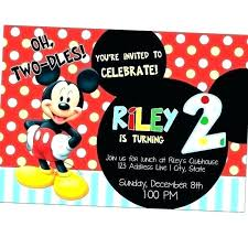 Mickey Mouse Birthday Cards Beauceplus
