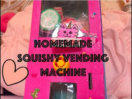 Squishy Vending Machine Stunning Homemade Squishy Vending Machine Kawaii Llamacorn YouTube