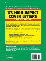 different cover letters 175 high impact cover letters richard h beatty