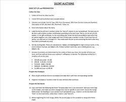 Bid Sheet For Silent Auction Printable 12 Silent Auction Bid Sheet Templates Free Word Excel Pdf Formats