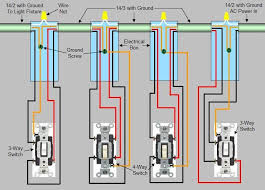 wiring diagram for 3 way and 4 way switches the wiring diagram 4 way switch installation circuit style 3 wiring diagram