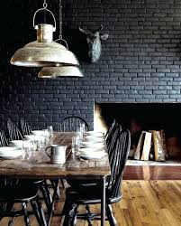 interior brick wall sealant indoor sealer painting black 5 gorgeous ideas for repainting your fireplace or walls sealing bare cleaning