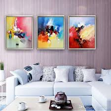 2018 modern handmade oil painting wall art living room wall decor abstract oil painting on canvas pictures for home room decoration from cyon2017