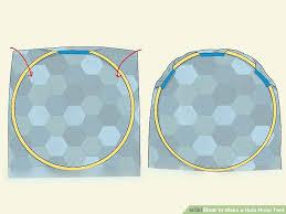 image titled make a hula hoop tent step 3