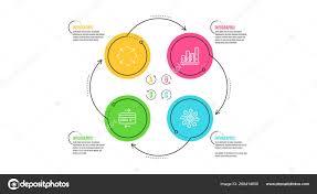 Graph Chart Credit Card And Maximize Icons Set Versatile