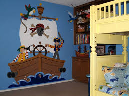 the buccaneer wall mural coolest kid s rooms playhouses ever neverland tinkerbell and peter pans