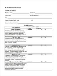 What Is Performance Evaluation Form Magnificent Form Templates Performance Evaluation Forms Day Unforgettable For