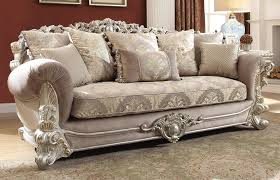 traditional sofas. Exellent Sofas Georgian Silver Finish Traditional Sofa Throughout Sofas