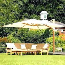 cantilever patio umbrella costco market umbrella replacement 11 ft cantilever patio umbrella with base costco