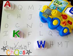 letter factory indoor games for kids
