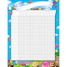 Incentive Charts For Students Candy Land Incentive Chart Poster
