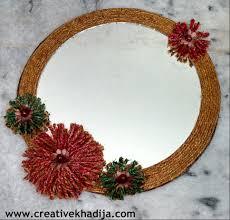 Small Picture Twine Mirror Refashion DIY